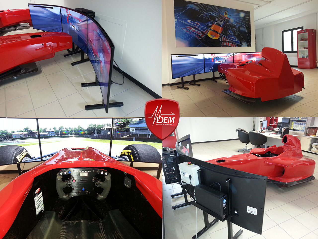 Drs 13 F1 Simulator Now With Curved Screens Dem Racing